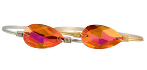 Astral Pink Teardrop Bangle Luca + Danni