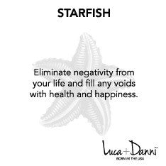 Starfish Bangle Luca + Danni meaning card