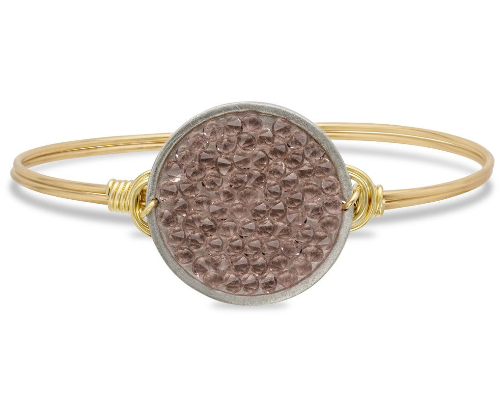 Rose Druzy Bangle Luca + Danni