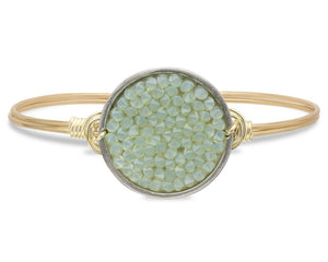 Jade Druzy Bangle Luca + Danni