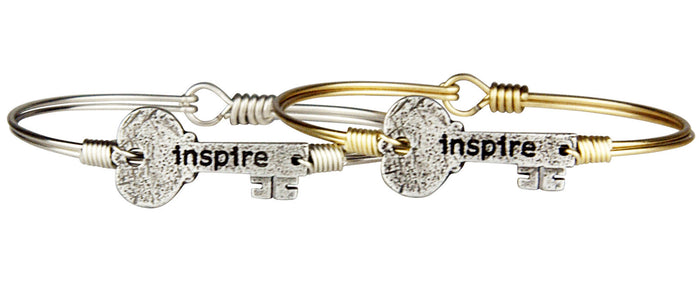 Unlocked Bangle, Inspire Key - Luca + Danni