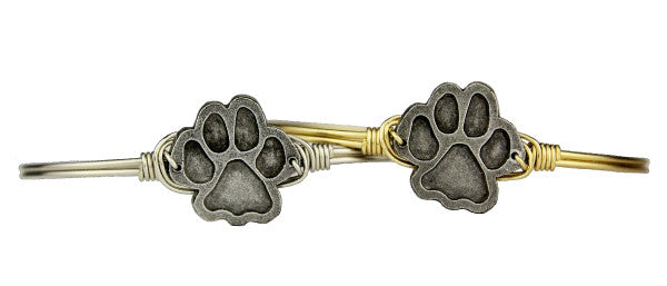 Nature Bangle, Paw Print - Luca + Danni
