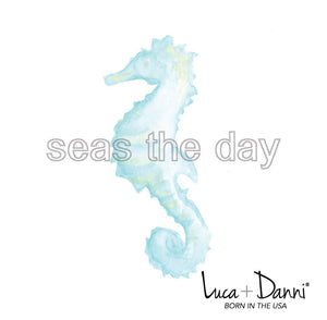Sea Horse Bangle Luca + Danni card