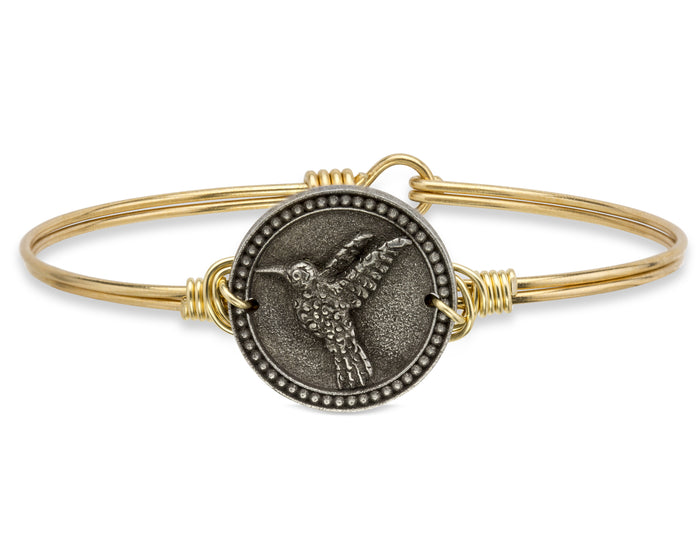 Nature Bangle, Hummingbird - Luca + Danni