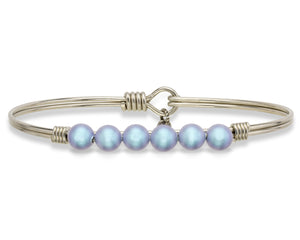 Aqua Pearl Bangle Luca + Danni