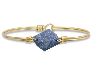 Marbled Blue Brooklyn Bangle Luca + Danni