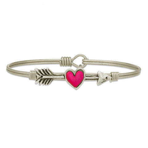 I Love Us, Cupid's Arrow Bangle, Luca + Danni