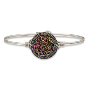 Endless Knot Bangle in Rainbow - Luca + Danni