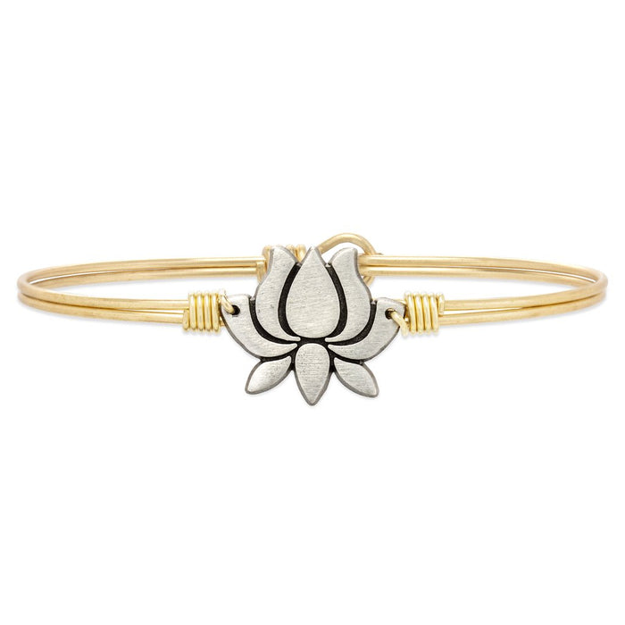Lotus Flower Bangle - Luca + Danni