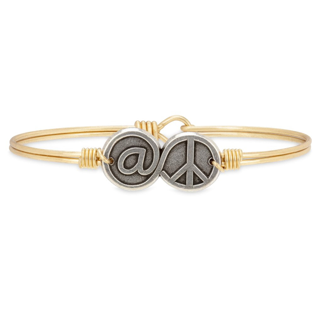 At Peace Bangle - Luca + Danni