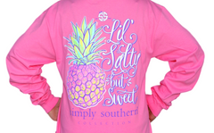 Simply Southern Salty Long Sleeve T-Shirt