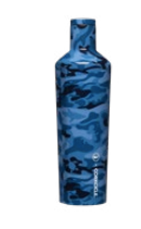Corkcicle x Vineyard Vines 25oz. Canteen-Blue Camo