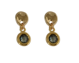 Vidda Earrings-Erica-Black Diamond