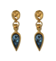 Vidda Earrings-Drop-Denim Blue