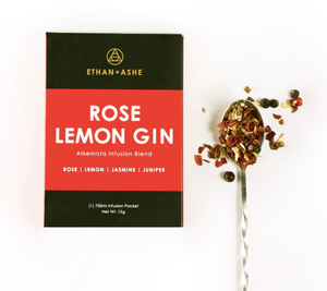 Alkemista Infusion-Rose Lemon Gin