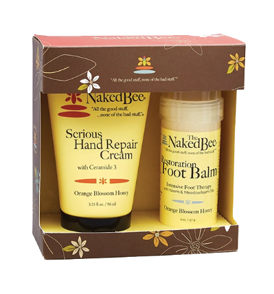 Naked Bee Hand and Foot Care Set