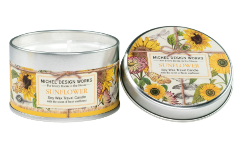 Michel Design Works Candle-Sunflower