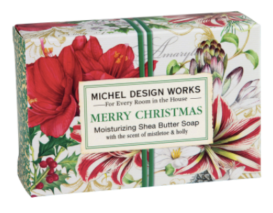 Michel Design Works Merry Christmas Bar Soap