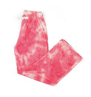 Hello Mello Dyes the Limit Lounge Pants-Coral