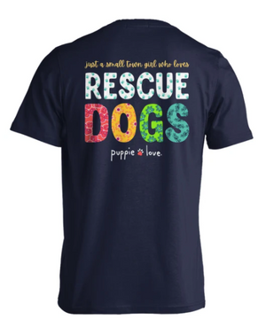 Puppie Love Rescue Dogs Tee