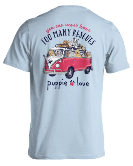 Puppie Love Rescue Bus Tee