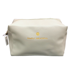 Simply Southern Simply Grateful Cosmo Bag