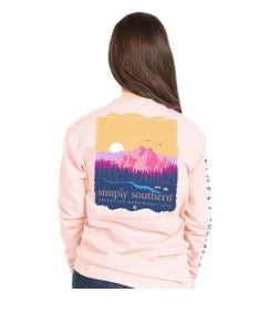 Simply Southern Mountain Adventure Long Sleeve T-Shirt