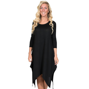 Simply Southern Augusta Dress Black