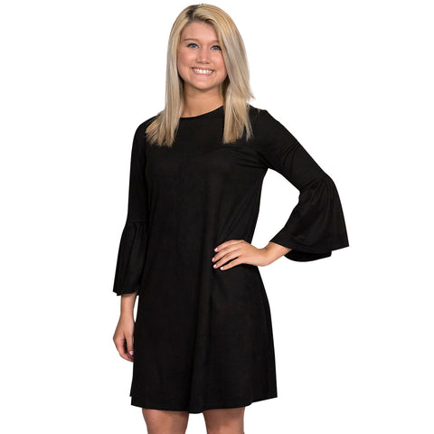 Simply Southern Charlotte Dress Black