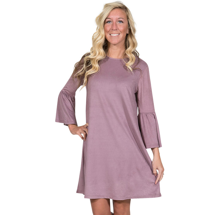 Simply Southern Charlotte Dress Lavender