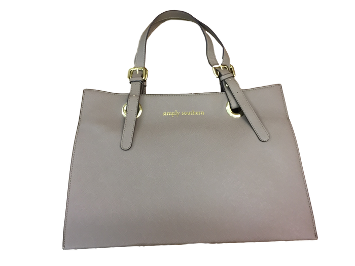 Simply Southern Gray Purse