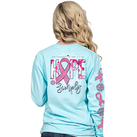 Simply Southern Hope Ribbon Long Sleeve T-Shirt