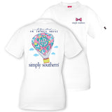 Simply Southern Hot Air Balloon T-shirt