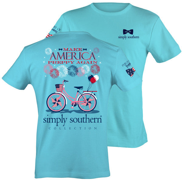 Simply Southern Make America Preppy Again T-shirt