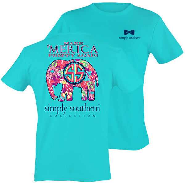 Simply Southern Make 'Merica Preppy Again T-shirt