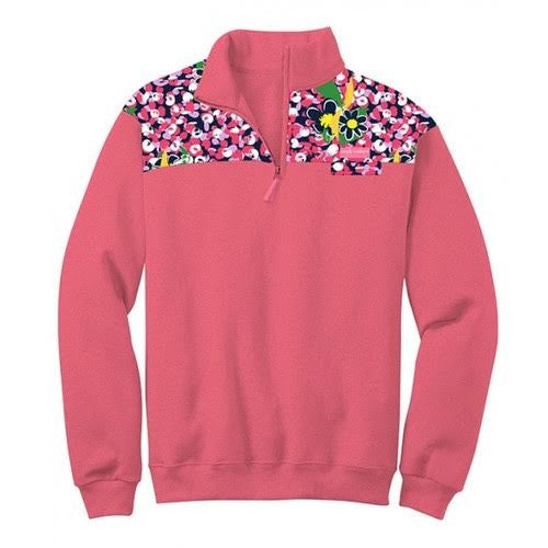 Simply Souther Pink Daisy Pullover