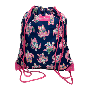Simply Southern Turtle Prep Drawstring Backpack
