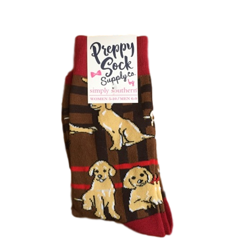 Simply Southern Retriever Socks Blooming Boutique