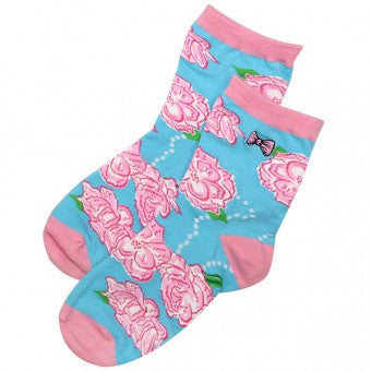 Simply Southern Roses Socks