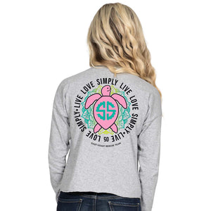 Simply Southern Turtle SHORTIE Long Sleeve T-Shirt