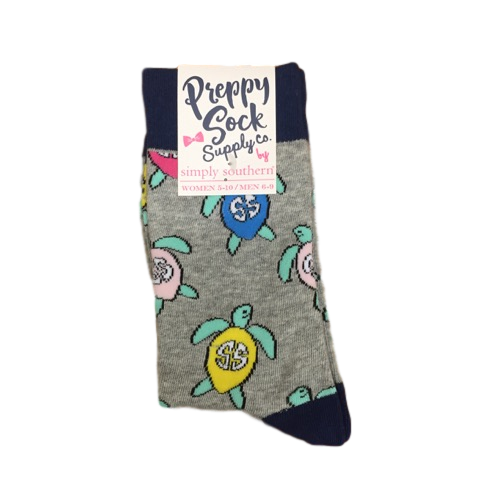Simply Southern Turtle Sock