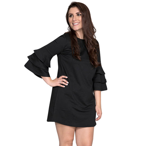 Simply Southern Winston Dress Black