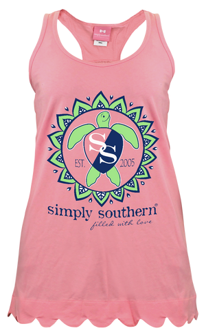 Simply Southern Pink Turtle Tank