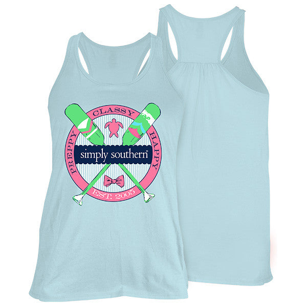Simply Southern Oars Tank Top