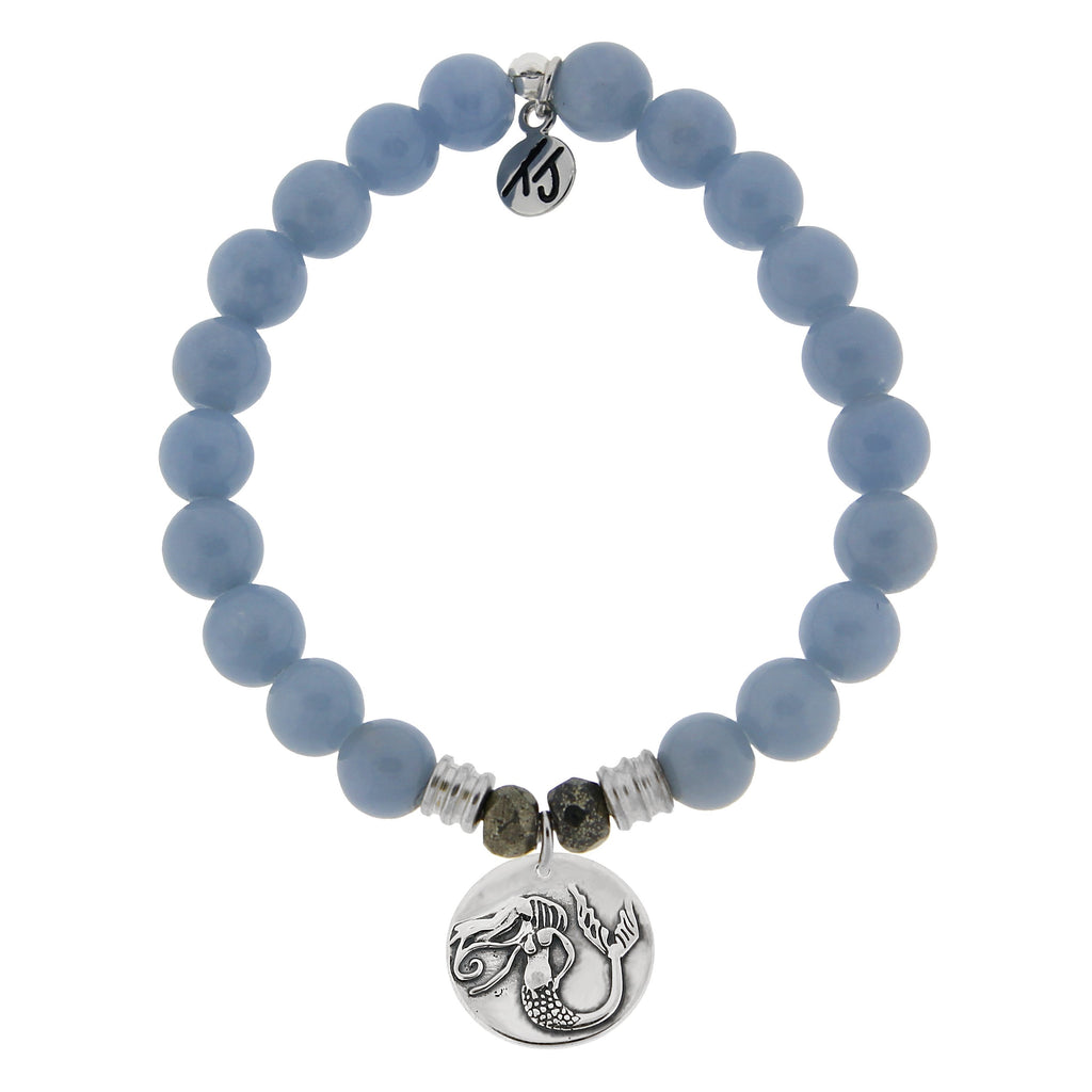 T. Jazelle Angelite Mermaid Bracelet
