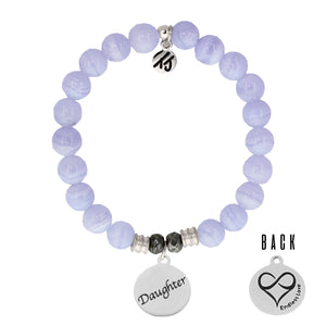 T. Jazelle Blue Lace Agate Daughter Bracelet