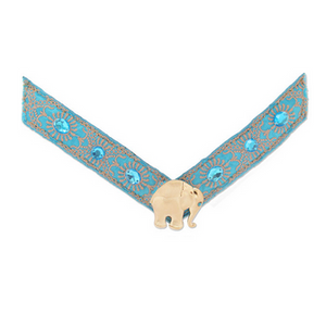Lindsay Phillips Blue Elephant Talia Strap