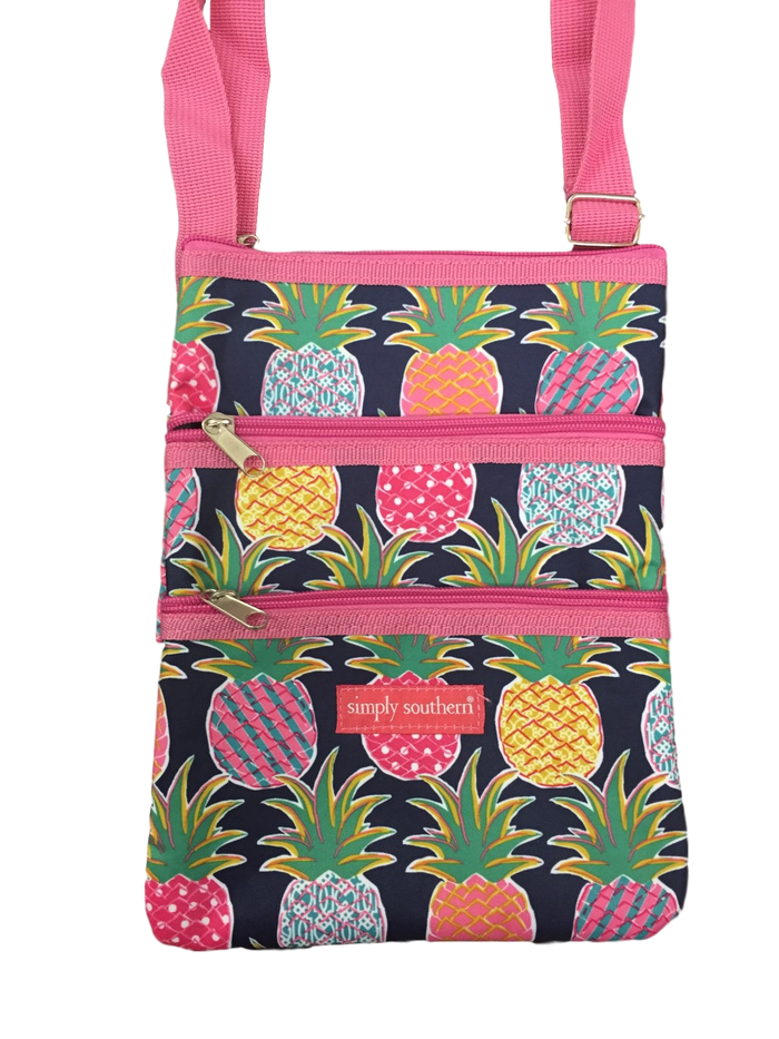 Simply Southern Pineapple Crossbody Bag