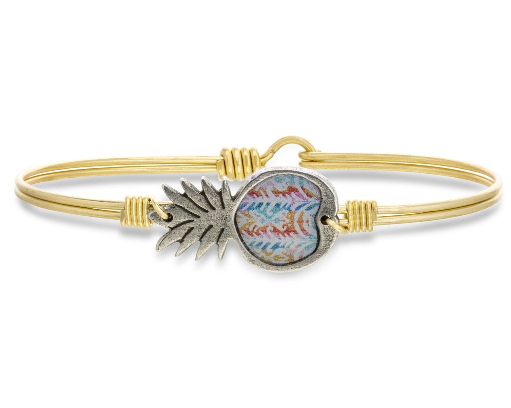 Tie Dye Pineapple Bangle - Luca + Danni