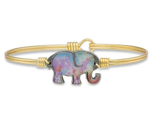 Tie Dye Elephant Bangle Luca + Danni